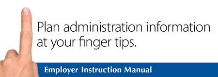 Employer Instruction Manual link